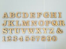 Wood Letters for Craft & Scrap Booking Laser Cut Letters & Numbers