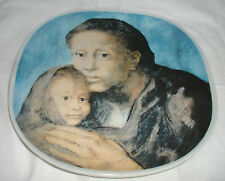 PICASSO MATERNITY PLATE 1973 EDITION !ST