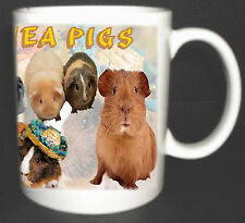 I LOVE GUINEA PIGS / CAVY COFFEE MUG LIMITED EDITION PERSONALISED GIFT.