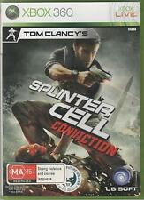 SPLINTER CELL - CONVICTION (Microsoft Xbox 360, 2010)