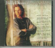 Music CD Billy Dean Greatest Hits
