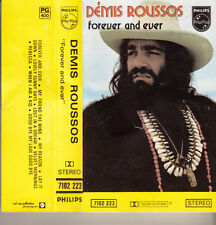 """K 7 AUDIO (TAPE)  DEMIS ROUSSOS   """"FOREVER AND EVER"""""""