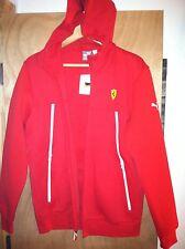 NEW PUMA ferrari red hoodie jacket