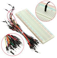 830 Kontakte Steckboard Steckbrett Breadboard + Jumper Wire Kabel Set