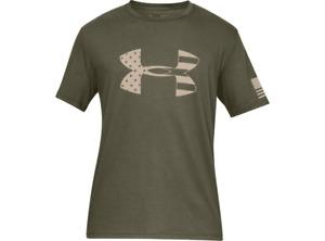 Under Armour 1333367 Men's UA Freedom Tonal Flag BFL Short Sleeve T-Shirt Tee