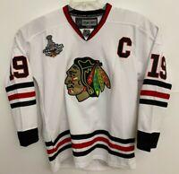 Jonathan Toews Authentic Blackhawks 2015 Stanley Cup Jersey - Reebok Center Ice