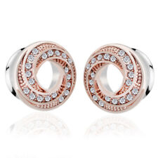 Stainless Steel Crystal Screw Ear Gauges Flesh Tunnel Plugs Stretcher Expand Ju