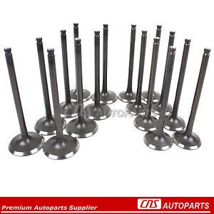 For 98+ Toyota 1.8L Corolla Celica MR2 16-Intake & Exhaust Engine VALVES 1ZZFE