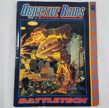 Objective Raids: A Battletech Sourcebook - Stock# 1665 - FASA 1992