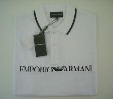 Polo EMPORIO ARMANI T-Shirt Taglia M Uomo Nuova BIANCA - Manica corta