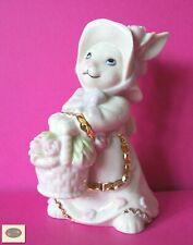 Adorable Lenox Classics Easter Blossoms Rabbit Figurine