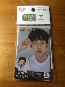 EXO EXORUN POP T-money Card Baekhyun Photo Card Official K-POP*(1