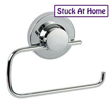 Naleon Ultimate Suction Toilet Roll Paper Holder Removable Bathroom Chrome
