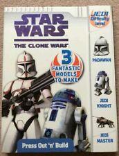 Star Wars The Clone Wars - Press Out 'n' Build Model Kit.