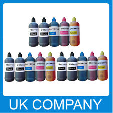 15x 100ml Universal Printer Refill Ink Bottle for CISS or Refillable Cartridges