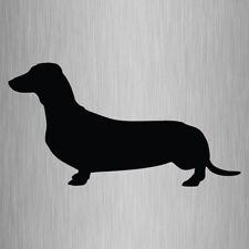 Daschund Sticker Sausage Dog Vinyl Car Decal 200mm x 105mm