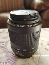Canon EF 80-200mm f/4.5-5.6 mkII Zoom Lens. EXCELLENT condition
