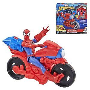 personaggio spiderman moto action figure per bambini avengers 30 cm 4 5 6 anni
