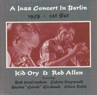 Kid Ory and Red Allen - A Jazz Concert In Berlin 1959  1st Set [CD]