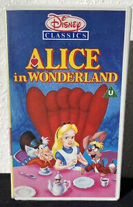 ALICE IN WONDERLAND VHS DISNEY CLASSICS