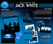 Third Man Vault 28 Vinyl LP Record/DVD/Book! Jack White Live Accoustic! Stripes!