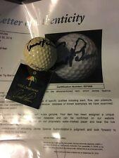 Arnold Palmer Auto JSA LOA Crosby Practice Golf Ball + ARNOLD PALMER  LAPEL PIN