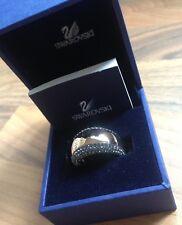 Swarovski Pebble Rose Gold & Black Ring