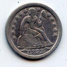 1853-p SEATED LIBERTY DIME - SCARCE !! (SEE PROMO)