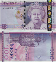 Jersey 100 Pounds. NEUF ND (2012) Billet de banque Cat# P.37a