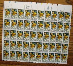 1991 US S# 2558, 29c Numismatics Mint sheet of stamps 50v MNH OG vf whole