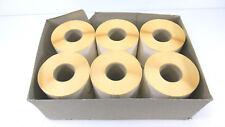 6000 Stück Roll-Haftetiketten 80 x 48,8 mm | 1-bahnig | neutral NEU OVP