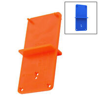 1 X Hinge Hole Drilling Guide Locator Hole Opener Template DIY Door Cabinet Tool