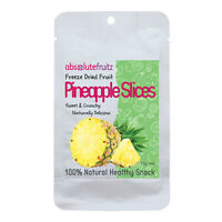 AbsoluteFruitz Freeze Dried Pineapple Slices 15g Muesli & Dried Fruits