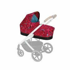 Cybex Cot S Special Edition Memory Foam Carry Cot - Love Red or Respect Green