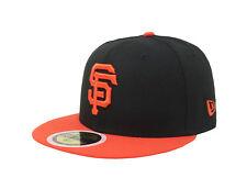 New Era 59Fifty Cap MLB San Francisco Giants Boys Kids Youth Size Black 5950 Hat