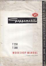 GOGGOMOBIL T250 & T300 ORIGINAL 1956 FACTORY WORKSHOP MANUAL