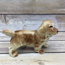 "Vintage Cocker Spaniel 6"" Ceramic Dog Figure Animal Canine Figurine"