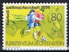 Liechtenstein postfris 1974 MNH 606 - WK Voetbal Duitsland
