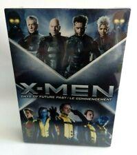 Coffret X MEN DAYS OF FUTUREPAST & LE COMMENCEMENT neuf 2 dvd