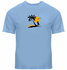 New listing Mens Unisex Tee T-Shirt Graphic Printed Beach Surfboard Shirt Gift Wave Surf