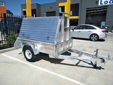 Loadmaxx 7x5 all aluminium builders trailer 750KG