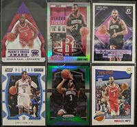 Lot of (6) Chris Paul, Including Crown Royale /25, Contenders/Optic/Prizm SP