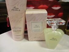 AVON  3pc Gift Set-Print Red Nylon Bag Eau de Parfum & Body Lotion RARE PEARLS
