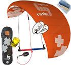 HQ4 Rush Pro 350 3.5M 3 Line Trainer Kite Kiteboarding Foil Power Traction Surf