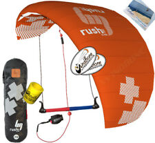 HQ4 Rush Pro 350 3.5M 3 Line Trainer Kite Kiteboarding Foil Power Traction Surf