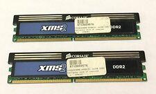 Corsair xms 4GB 2X2GB DDR2 PC2-6400 800MHz 240p NON ECC CM2X2048-6400C5C