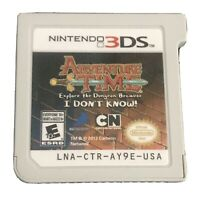 Adventure Time Explore the Dungeon Because I Don't Know Nintendo 3DS, 2013