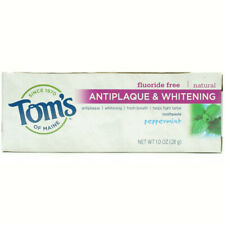 TOM'S OF MAINE - Antiplaque and Whitening Peppermint Toothpaste - 1 oz. (28 g)