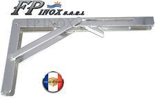 Compas, Equerre, Bras Pliant d'ouverture inox Table Verrouillage automatique 90°