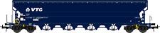 NME 505616 Spur H0 Getreidewagen Tagnpps 130m³, blau, VTG; 17. Betr.nr. Ep 6